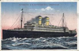 shi007311 - S.S. Rotterdam Holl Ocean Liner, Ocean Liners, Oceanliner Ship Ships Postcard Postcards