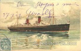shi007313 - La Lorraine Ocean Liner, Ocean Liners, Oceanliner Ship Ships Postcard Postcards