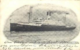 shi007323 - Antilles Ocean Liner, Ocean Liners, Oceanliner Ship Ships Postcard Postcards