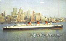 shi007331 - Cunard R.M.S. Queen Mary Ship Shps, Ocean Liners,  Postcard Postcards