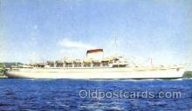 shi007360 - Avgvstvs, Italian Lines Ship Shps, Ocean Liners,  Postcard Postcards