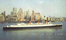 shi007375 - Cunard R.M.S. Queen Mary Ship Shps, Ocean Liners,  Postcard Postcards