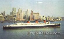 shi007378 - Cunard R.M.S. Queen Mary Ship Shps, Ocean Liners,  Postcard Postcards