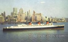 shi007380 - Cunard R.M.S. Queen Mary Ship Shps, Ocean Liners,  Postcard Postcards
