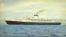 shi007381 - Italia, Cristoforo Colombo Ship Shps, Ocean Liners,  Postcard Postcards