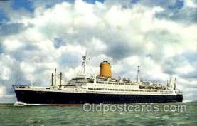 shi007387 - Vierschrauben T.S., Bremen Ship Shps, Ocean Liners,  Postcard Postcards