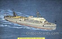 shi007391 - S.S. Milwaukee Clipper, Lake Michigan USA Ship Shps, Ocean Liners,  Postcard Postcards