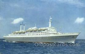 shi007397 - SS Rotterdam Ship Postcard Postcards