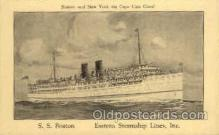 shi008058 - S.S. Boston Eastern Steamship Lines, Inc