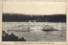 shi008079 - Alexander Hamilton on Hudson River Day Line, Steam Boat Steamer Ship Ships Postcard Postcards