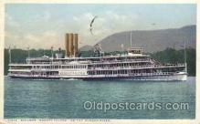 shi008084 - Robert Fulton on the Hudson River, New York, USA Steam Boat Steamer Ship Ships Postcard Postcards