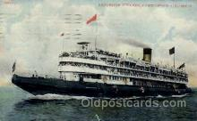 shi008098 - Christopher Columbus Steam Boat Steamer Ship Ships Postcard Postcards