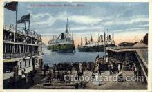 shi008103 - Excursion Steamers, Detroit, Mich, USA Steam Boat Steamer Ship Ships Postcard Postcards
