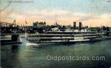 shi008106 - Hendrick Hudson on The Hudson River, New York, USA Steam Boat Steamer Ship Ships Postcard Postcards