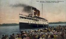 shi008115 - Cavuga Landing at Queenston Totonto to Niagra Falls Route, Steam Boat Steamer Ship Ships Postcard Postcards