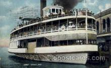 shi008118 - Belle Isle Pleasure, Boat, Detroit, Mich. USA, Steam Boat Steamer Ship Ships Postcard Postcards