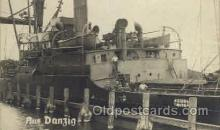 shi008119 - Aus Danzig Steam Boat Steamer Ship Ships Postcard Postcards