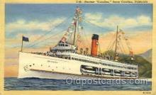 shi008122 - Catalina, Santa Catalina, California, USA Steam Boat Steamer Ship Ships Postcard Postcards