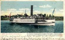 shi008127 - Str. Vermont, Lake Champlain Steam Boat Steamer Ship Ships Postcard Postcards
