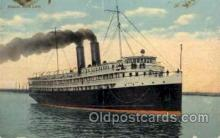 shi008129 - S.S.North Land, Yarmouth, N.S. Steam Boat Steamer Ship Ships Postcard Postcards