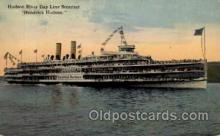 shi008146 - Hendrick Hudson on The Hudson River, New York, USA Steam Boat Steamer Ship Ships Postcard Postcards