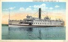 shi008147 - Steamer Vermont on Lake Champlain Steam Boat Steamer Ship Ships Postcard Postcards