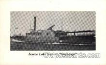 shi008163 - Senaca Lake Steamer, Onondaga Steam Boat Steamer Ship Ships Postcard Postcards