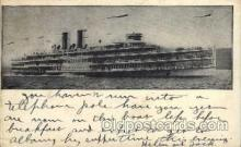 shi008166 - Hendick Hudson on The Hudson River, New York, USA Steam Boat Steamer Ship Ships Postcard Postcards