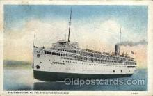 shi008167 - Octorara, Duluth - Superior Harbor, Steam Boat Steamer Ship Ships Postcard Postcards