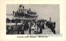 shi008170 - Conesus lake Steamer, McPherson Steam Boat Steamer Ship Ships Postcard Postcards
