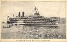 shi008176 - Hendrick Hudson on The Hudson River, New York, USA Steam Boat Steamer Ship Ships Postcard Postcards