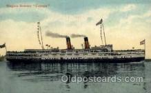 shi008179 - Niagra Steamer, Cayuga Steam Boat Steamship Ships Postcard Postcards