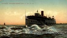 shi008180 - Montreal, Steamer Rapids King Steam Boat Steamship Ships Postcard Postcards