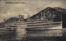shi008197 - Robert Fulton Hudson River Line Steamer,  Ship Postcard Postcards