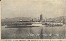 shi008198 - Robert Fulton Hudson River Line Steamer,  Ship Postcard Postcards