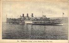shi008199 - Washington Irving of the Hudson River Day Line Steamer Ship Ships Postcard Postcards