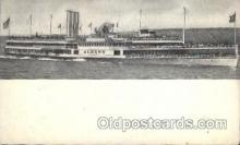 shi008206 - Steamer Ship Albany, Hudson River Dayline, Ships Postcard Postcards
