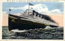 shi008207 - C. & B. Line Great Steamer Ships