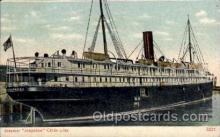 shi008211 - Arapahoe, Clyde Line, Steamer Ship Ships Postcard Postcards
