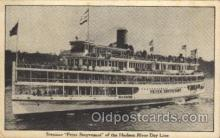 shi008230 - Peter Stuyvesant, of the Hudson River Day Line, Steamer Ship Ships Postcard Postcards