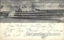 shi008234 - Steamer Ship Albany, Hudson River Dayline, Ships Postcard Postcards