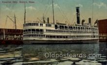 shi008237 - Hospital Ship, Boston Mass, USA, Steamer Ships Postcard Postcards