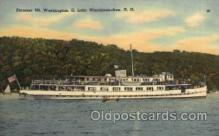 shi008243 - Mt. Washington, II, Lake Winnipesaukee, New Hampshire, USA, Steamer Ship Ships Postcard Postcards