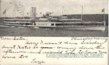 shi008253 - Hudson River Dayline,  Albany, Steamer Ship Ships Postcard Postcards