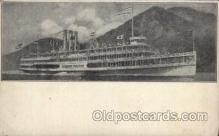 shi008258 - Robert Fulton Hudson River Line Steamer,  Ship Postcard Postcards