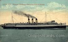 shi008279 - S.S. Princess Charlotte, Vancouver - Victoria Service, Steamer Ship Ships Postcard Postcards