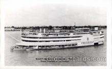 shi008284 - Steamer President at New Orleans, USA  Ship Ships Postcard Postcards