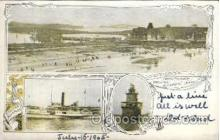 shi008317 - Nantasket Showing Steamboat Landing, Postcard Postcards