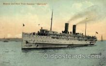 shi008323 - Boston & New York Steamer Ship