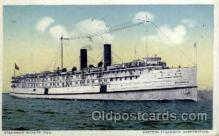 shi008324 - Steamship Bunker Hill Eastern Steamship Corporation, Postcard Postcards